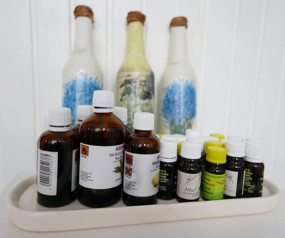 Olejki eteryczne w naturalnym, ręcznie robionym mydle