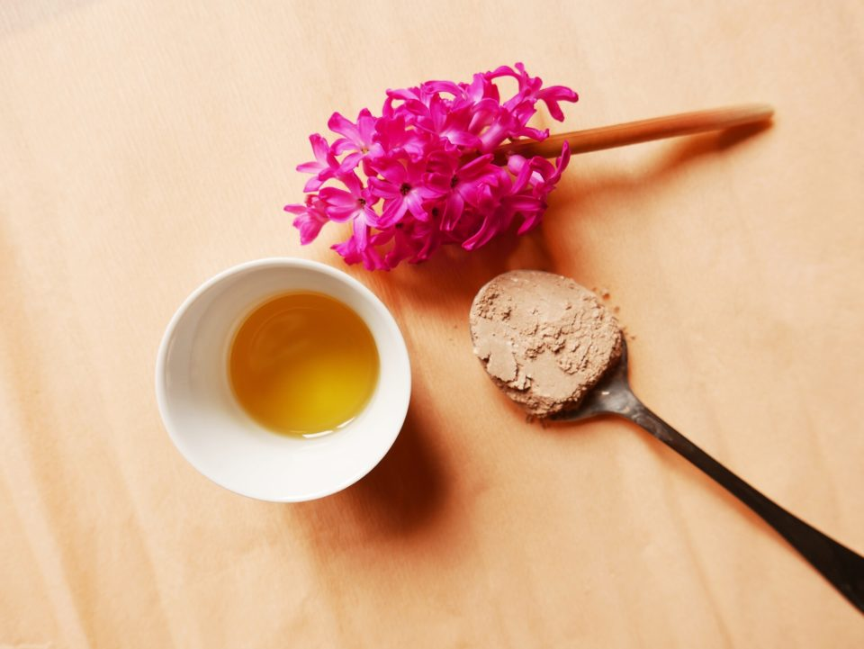 Mydło z francuską glinką różową i pieprzykiem
